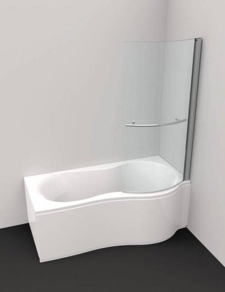 raumspar badewanne flora mit duschzone links 180 x 90 75 x. Black Bedroom Furniture Sets. Home Design Ideas