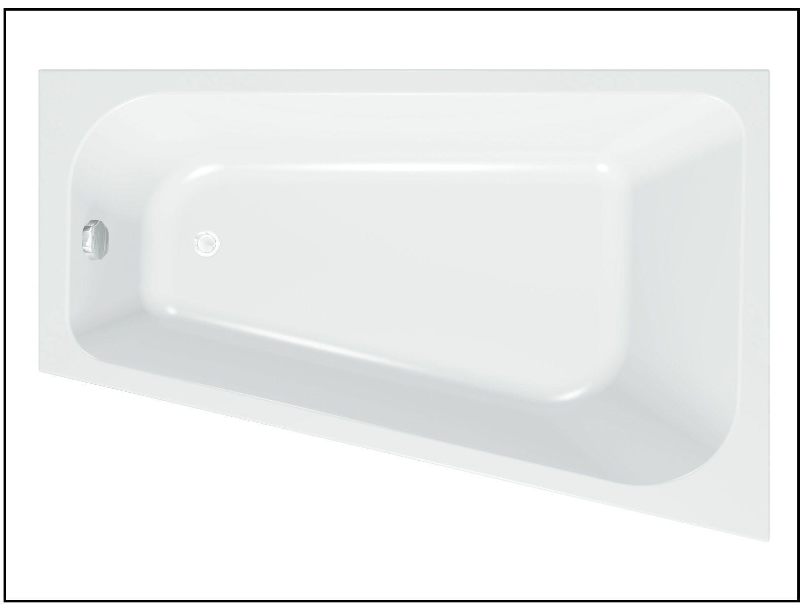 design badewanne eckbadewanne mara 170 x 110 cm inkl f en frei. Black Bedroom Furniture Sets. Home Design Ideas