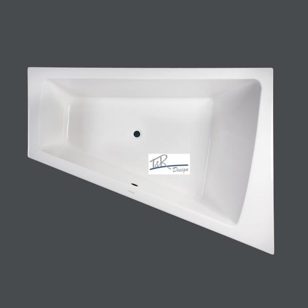 badewanne duravit paiova 180 x 140 rechts wannentr ger 700217. Black Bedroom Furniture Sets. Home Design Ideas