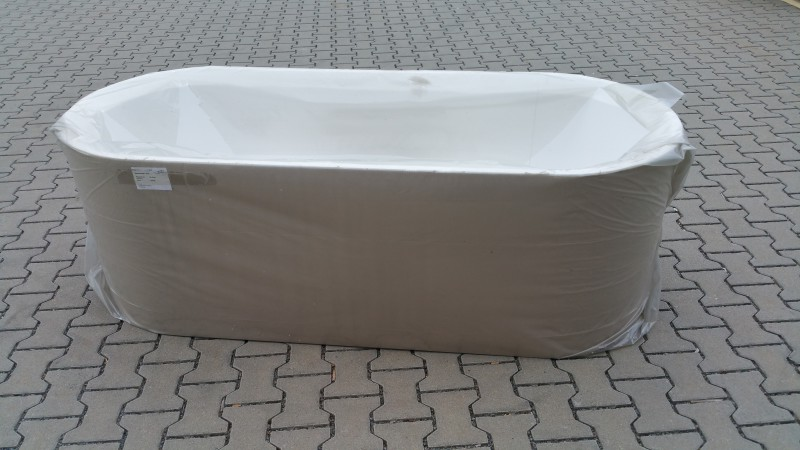 badewanne pia oval 180 x 80 x 50 deutsche fertigung f e sofort frei haus ebay. Black Bedroom Furniture Sets. Home Design Ideas