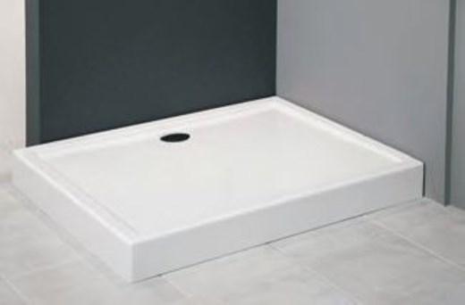 duschwanne duschtasse dusche acrylwanne milena inkl wannentr ger 120 x 90 x 14cm ebay. Black Bedroom Furniture Sets. Home Design Ideas