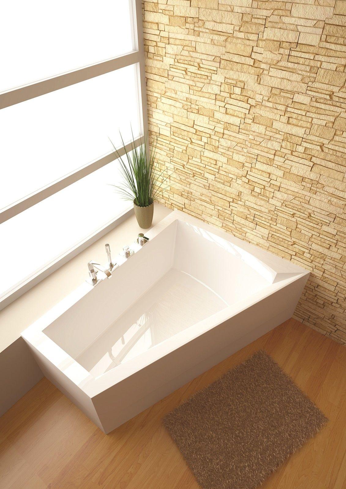 raumspar badewanne galia ii 175 x 135 70 x 52 cm rechts inkl wannentr ger ebay. Black Bedroom Furniture Sets. Home Design Ideas